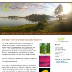 New Harmony Wellness Website