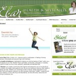 Elan Health and Wellness Website